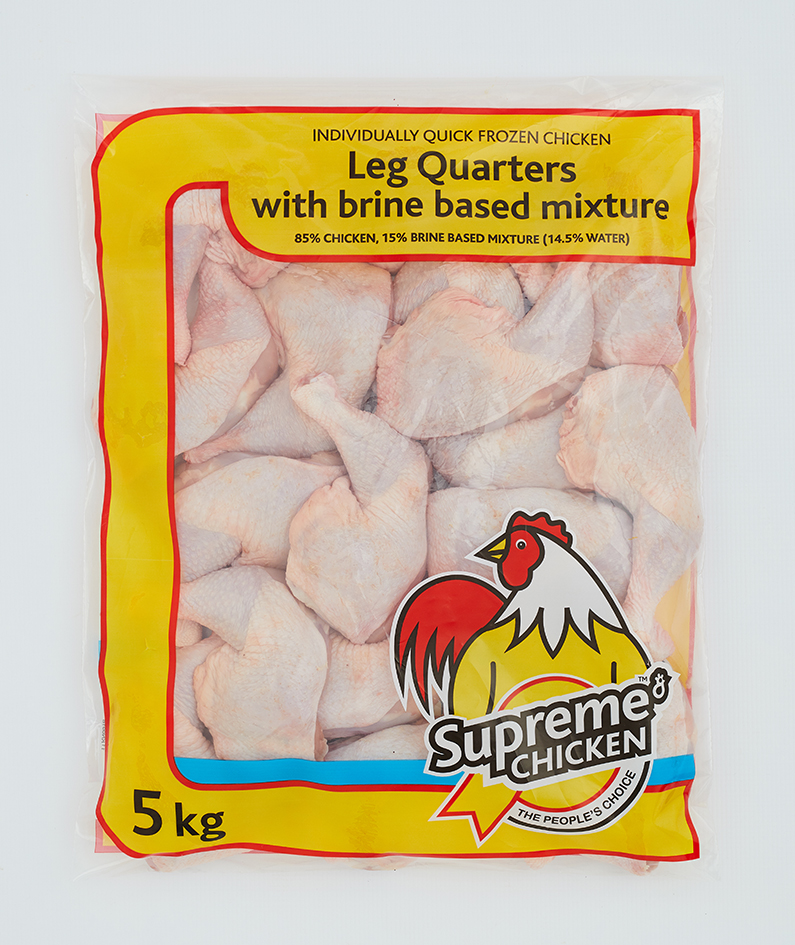 Leg quarters with brine based mixture (5kg)